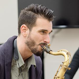 Chad Leftkowitz-Brown, tenor saxophone