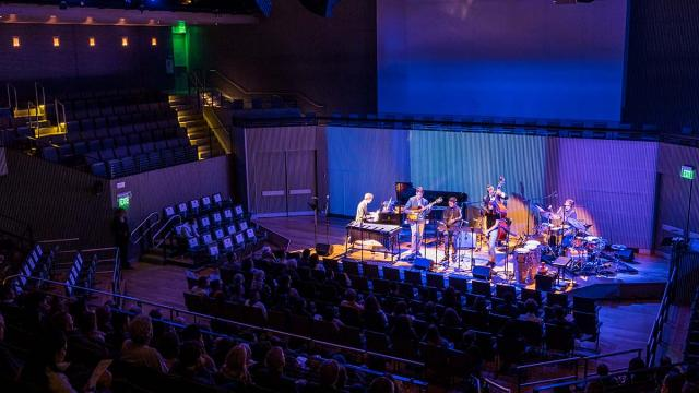 Some SFJAZZ musicians performing with SFCM