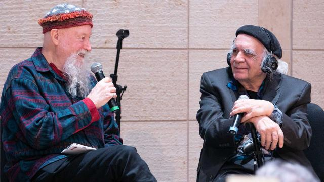 Ramón Sender Barayón and Terry Riley