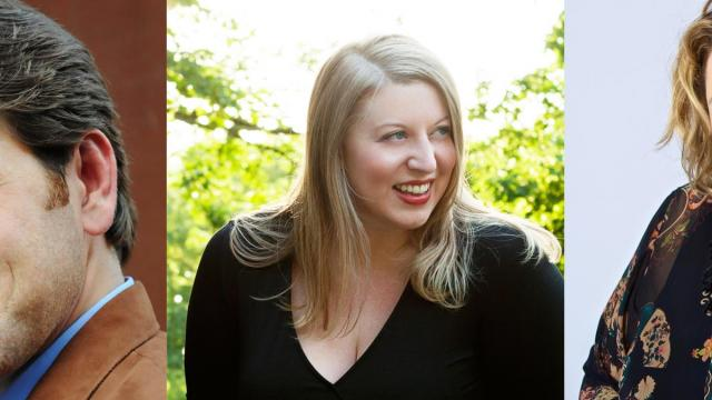 Michael Mayes, Catherine Cook, Laura Strickling